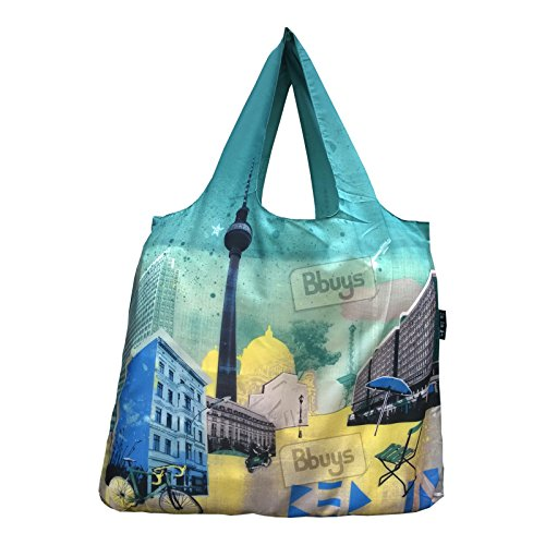 Enviro Sax Travel Berlin Bag 5Roll Up Shopping Bag