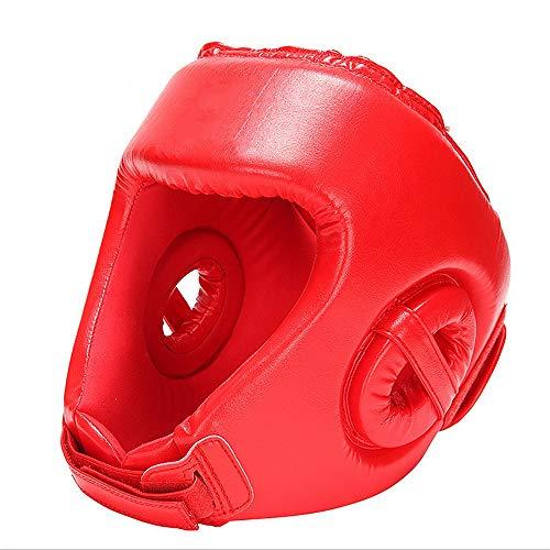Chlyuan-sp Boxe Copricapo Professional Boxing MMA Kickboxing Head Gear Casco Boxe Testa Guardia Sparring Muay Thai Kick Brace Protezione Testa per Boxe, MMA, UFC, Muay Thai, Kickboxing, Arti ma