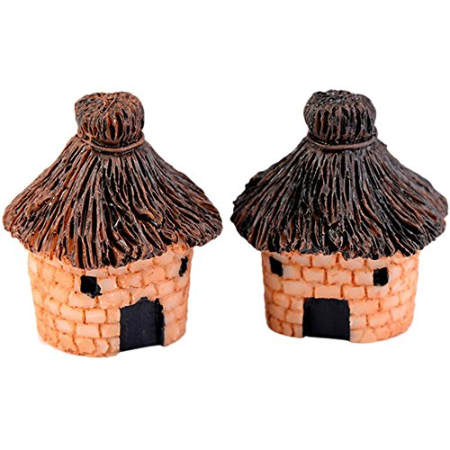Neilyn Mignon Résine Artisanat Maison Fée Jardin Miniatures Micro Paysage Décor Bonsaï pour Home Decor Couleur Aléatoire ( Color : Lck014 )