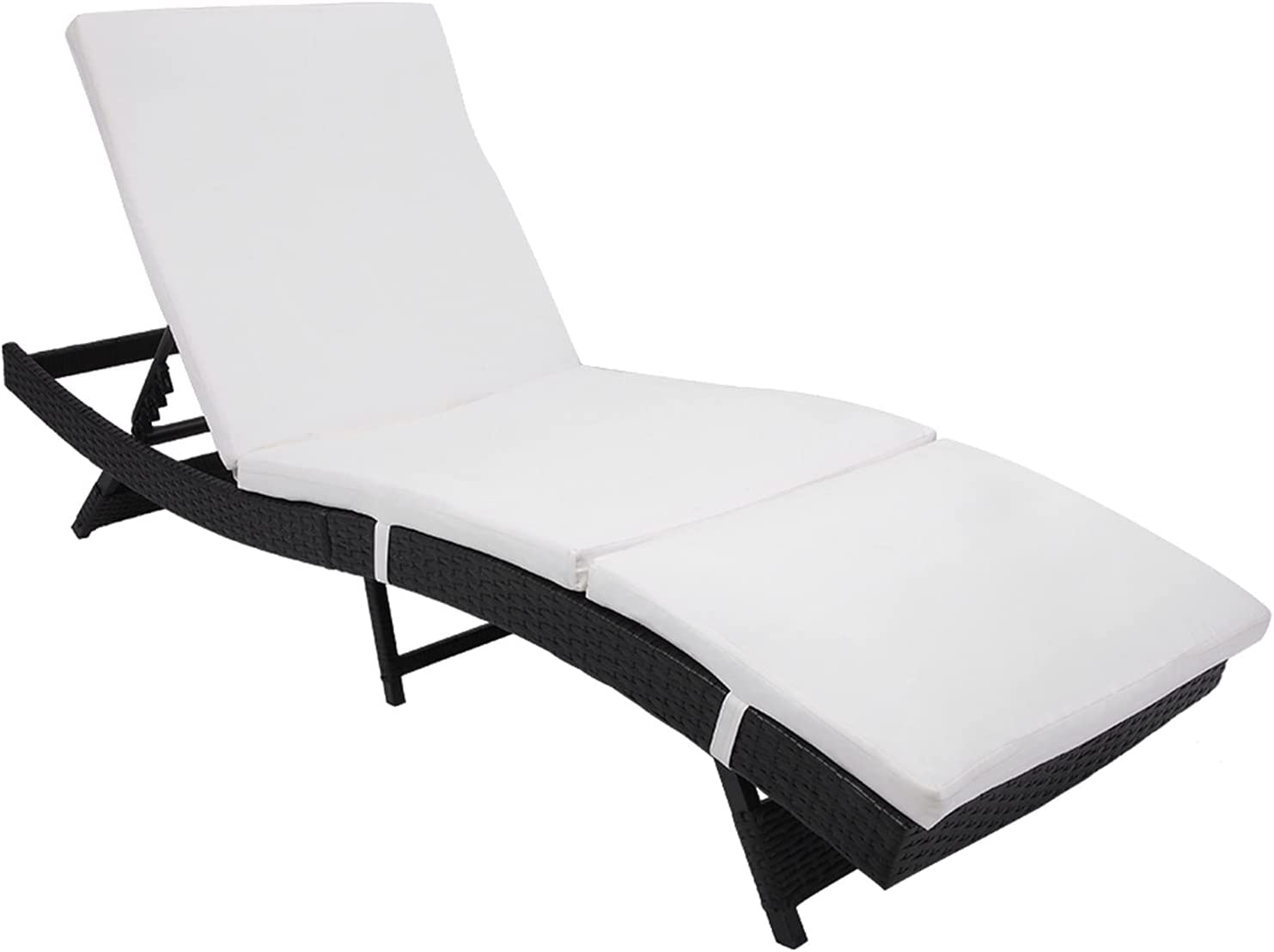 WiCCI gt6-ZJ Patio Chaise Embossing Our shop OFFers the best service Lounge Chair Vines Indianapolis Mall Bl