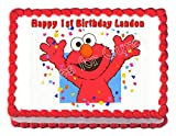 Cakes for Cures ELMO Sesame Street Party Decoration Edible Cake Image Party Cake Topper Frosting Sheet