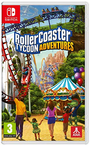 Rollercoster Tycoon Adventures - Classics - Nintendo Switch