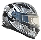 Vega Helmets Ultra Electric Snow Unisex-Adult Full Face Snowmobile Helmet with...