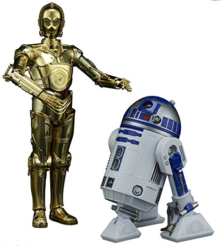 BANDAI Star Wars C-3PO & R2-D2 1/12 Scale Action Figure Model Kit