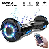 Mega Motion Self Balance Scooter 6,5' - 2018 Elektro Scooter E-Skateboard - Scooter - UL zertifizierten 2272 LED