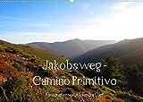 Jakobsweg - Camino Primitivo (Wandkalender 2022 DIN A2 quer): Pilgerweg von Oviedo nach Santiago de Compostela (Monatskalender, 14 Seiten )