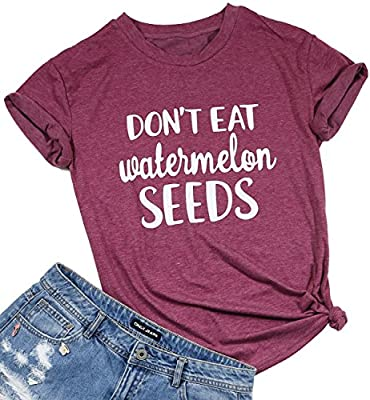 FAYALEQ Womens It's Not a Food Baby Funny T-Shirt Cute Mom Shirt Casual Short Sleeve Tee