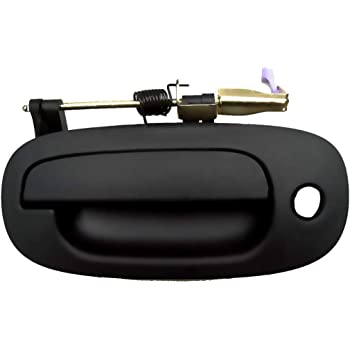 Amazon Com For Pontiac Vibe Door Handle 2003 2010 Exterior Front Passenger Side Texture Black Finish Keyhole Automotive