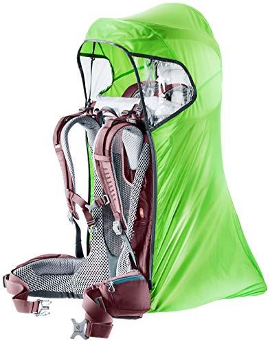 Deuter KC Raincover Deluxe for Child Carrier Backpacks, Kiwi