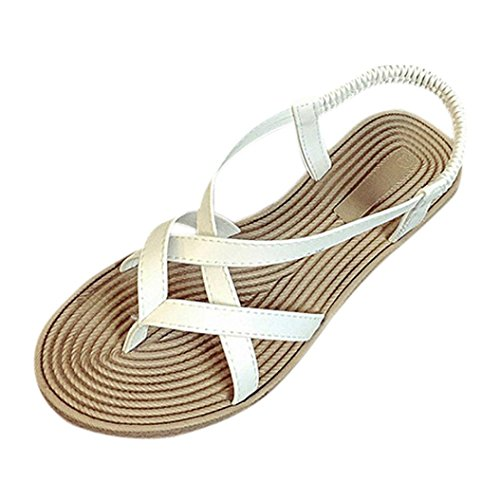 ZARLLE Sandalias De Mujer Sandalias Romanas Mujer Sandalias Mujer Verano 2018 con Plataforma Chanclas De SeñOras Sandalias Bohemia Sandalias De Piel Zapatos De Planas