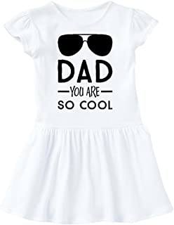 Mashed Clothing - Dad You are Cool (Aviators) - Daddy Gift Father's Day - Baby Infant Dress