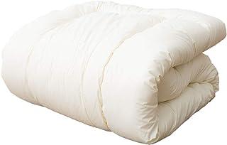 エムール 掛け布団 布団 シングル 日本製 綿100% ウール キルティング 防ダニ 抗菌防臭 安眠 リーベル2