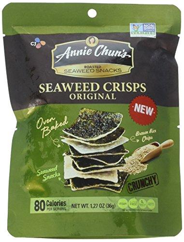 Annie Chun's Roasted Seaweed Snacks Seaweed Crisps Original 1.27 oz