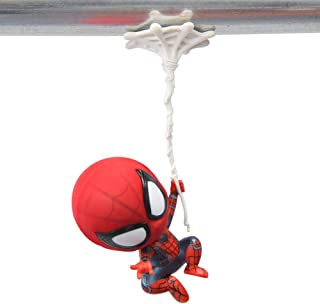 Spider-Man Toys Figure, Magnet Base, Car Hanging, Bobbleheads (Single arm/6inch)
