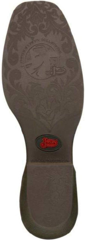 Justin Womens Jungle Western Boot Square Toe