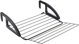 Metaltex Onyx pour Balcon 62x61x17 cm Noir