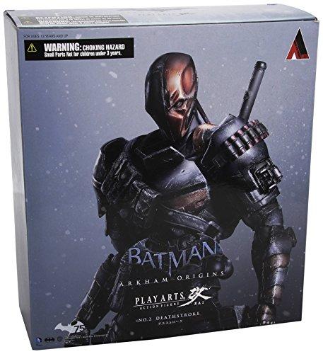 DC Comics Batman Arkham Origins Play Arts Kai Deathstroke Action-Figur DC Comics Batman Arkham Origins Play Arts Kai Deathstroke Action Figure
