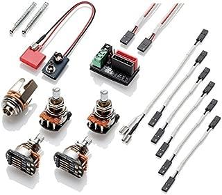 EMG 1 - 2 Pickup Conversion Wiring Kit Solderless PPP W/Push/Pull