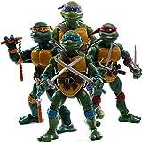 LIULL Tortues Ninja TMNT Modèle D'animation Caractère Mobile Action Figures