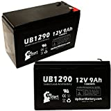 2 Pack Replacement for BB Battery BP8-12 Battery - Replacement UB1290 Universal...
