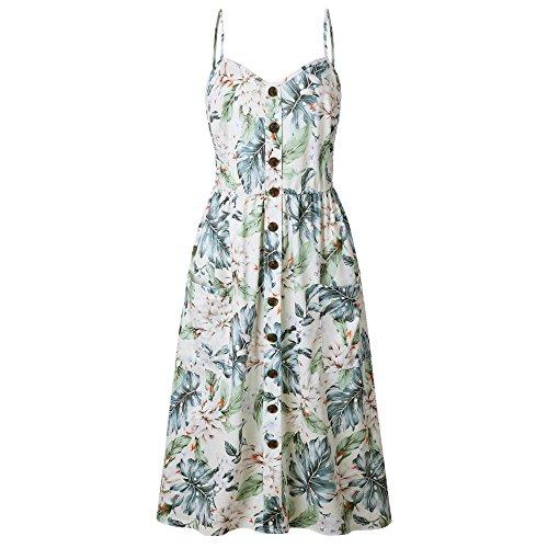 (55% OFF Coupon) Summer Dress W/ Pockets $13.94