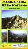Marina Baixa. Serra d'Aitana, mapa excursionista. Escala 1:20.000. Piolet.