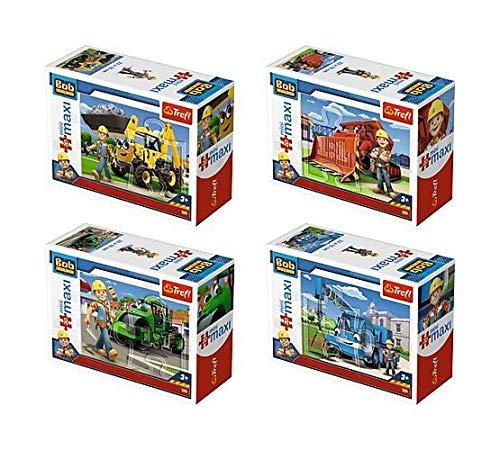Trefl - 20 Minimaxi, Bob I Maszyny, Bob Budowniczy 56002