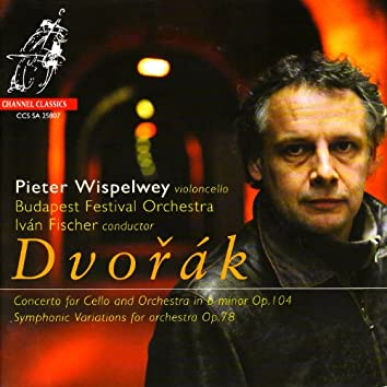"""Dvořák: Concerto for Cello & Orchestra in B-Minor & Symphonic Variations for Orchestra on """"I Am Fiddler"""""""