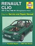 Renault Clio Petrol Service and Repair Manual ; 1991 to May 1998 (Haynes Service and Repair Manuals) by Matthew Minter (24-Apr-1995) Hardcover