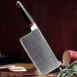 Cocina Cocina Cocina 3 Capa Acero Compuesto Alto Carbono Acero Cuchillo Chino Cuchillo Cuchillo Para Filetear Cortar Bander Butcher cuchillo chef de
