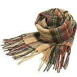 英国王室ご愛用 Lochcarron of scotland ロキャロン ラムズウール100% タータンチェックマフラー全42柄 (カントリースチュアート)