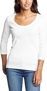 Women's Favorite 3/4-Sleeve Scoop-Neck T-Shirt