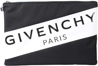 Givenchy Men's BK602XK0PF004 Black Polyamide Clutch