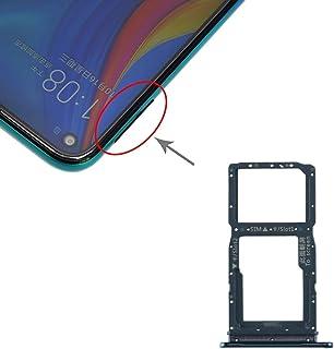 ZHANGYOUDE Phone Repair Parts SIM Card Tray + SIM Card Tray/Micro SD Card Tray for Huawei Enjoy 10 Plus (Black) (Color : G...