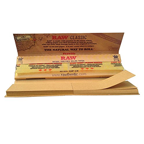 RAW 10 x Connoisseur Papers Tips Per Pack