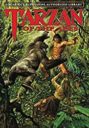 Image: Tarzan of the Apes: Edgar Rice Burroughs Authorized Library | Hardcover: 338 pages | by Edgar Rice Burroughs (Author), Joe Jusko (Illustrator, Foreword). Publisher: Edgar Rice Burroughs, Inc.; Edgar Rice Burroughs Authorized Library ed. edition (December 12, 2019)