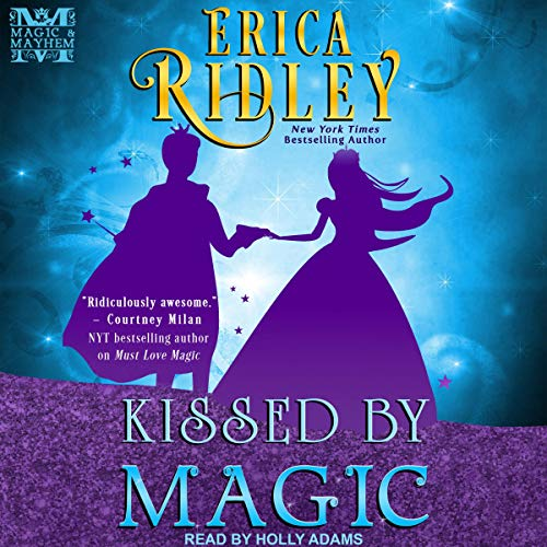 Kissed by Magic audiobook cover art