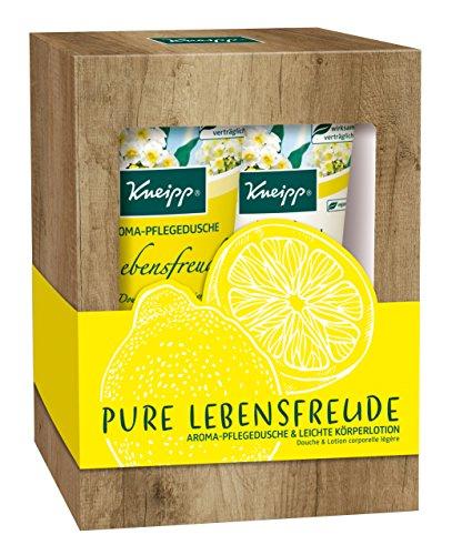 Kneipp Geschenkpackung Pure Lebensfreude, Duschgel & Körperlotion, 1er Pack