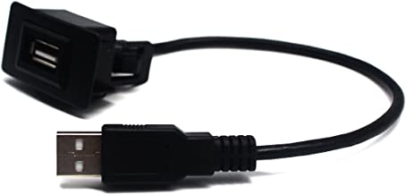 MOTONG Male to Female USB Cable Charger for Honda BRIO/Jazz/City/Civic/Accord/CRV/Freed (44 26mm)