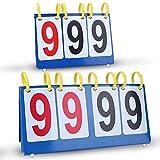 Marcador de Puntuación Marcador de Tabla Impermeable 3/4 Dígitos(3 Dígitos)