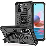 DAMONDY for Redmi Note 10 4G Case,Kickstand Defender...