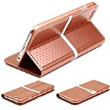 Urcover Custodia iPhone 6 Plus / 6s Plus, Nillkin Ice Series Wallet Case [Supporto Stand] ...
