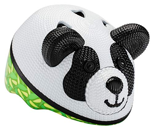 Schwinn Kids Bike Helmet with 3D Character Features, Infant and Toddler Sizes, Infant, Panda Bear