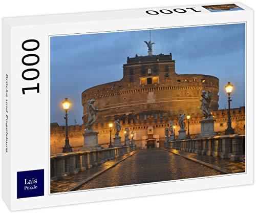 Lais Puzzle Ponte e Castel Sant'Angelo Roma 1000 Pezzi