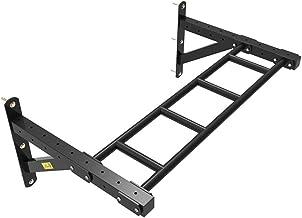 Sandbag Bracket Door Frame Lever Indoor Fitness Equipment Wall Wall Hanging Single Pole Pull-up Single Parallel Bars (Color : Black, Size : 108 * 45 * 63cm)