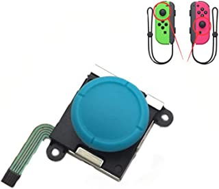 Meijunter Analog Joystick for Nintendo Switch Joy-Con, Replacement Left and Right Analog Controller Rocker Rod Stick with Cap