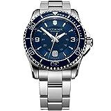 Victorinox Hombre Maverick - Reloj de Acero Inoxidable de Cuarzo analógico de fabricación Suiza 241602