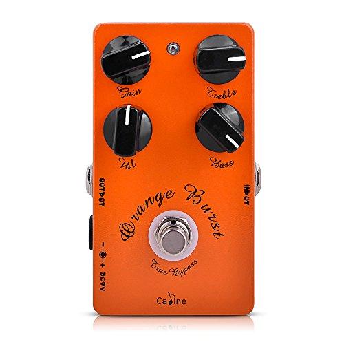 Andoer Caline CP-18 Pre AMP Pedal de guitarra Overdrive (Naranja)