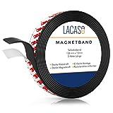Lacaso Magnetband [3M] stark selbstklebend I Magnetklebeband I Universal Magnetstreifen Individuell...