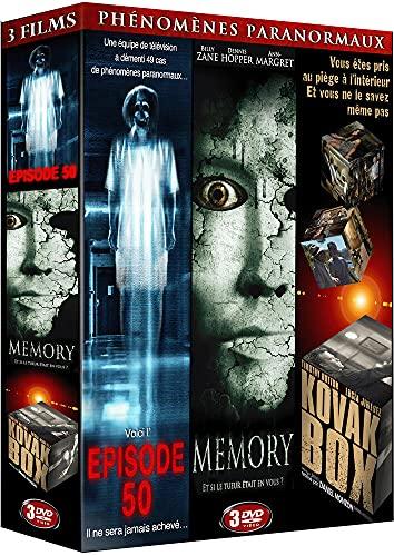 Phénomènes paranormaux : Episode 50 + Memory + Kovak Box